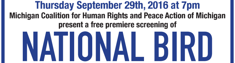 Join us for a free screening of National Bird